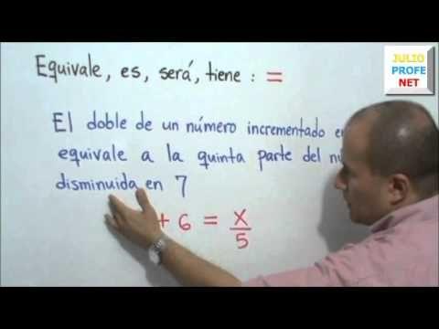 Mensaje 3 de Julioprofe: Claves para plantear problemas de Matemáticas: En su tercer mensaje dirigido a la comunidad estudiantil, Julio Rios expone algunas claves para plantear problemas matemáticos.