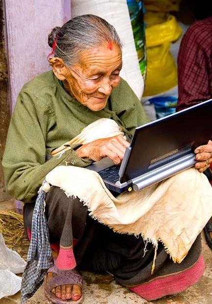 Image result for older woman working