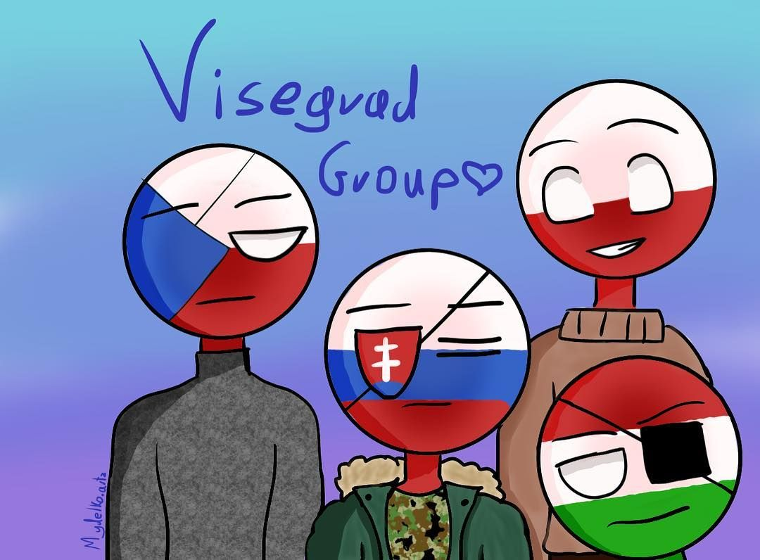 Okay So Here Is The Visegrad Group I Don T Know What To Say So Umm Anyways Hope You Like It Ignore Hungary Hetalia Say What I Don T Know