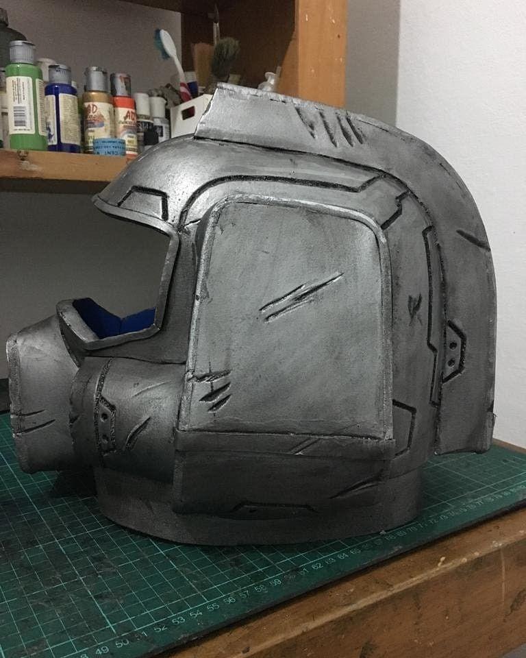 Classic Doom Marine Helmet Doom Doomguy Doommarine Praetorsuit