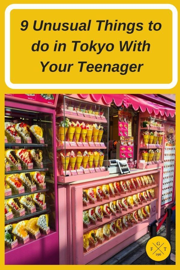Tokyo, Japan is one of the best cities in the world to travel with teenagers. With so many unusual things to do for teenagers such as amazing fashion styles to out of the norm museums to Tokyo Disneyland, they surely won't be bored. Family travel bucket list. Family travel ideas. Family travel budget. #familytraveltips #kidstravel #tokyothingstodo FEEL FREE TO REPIN our pins about things to do in Tokyo with teenagers.