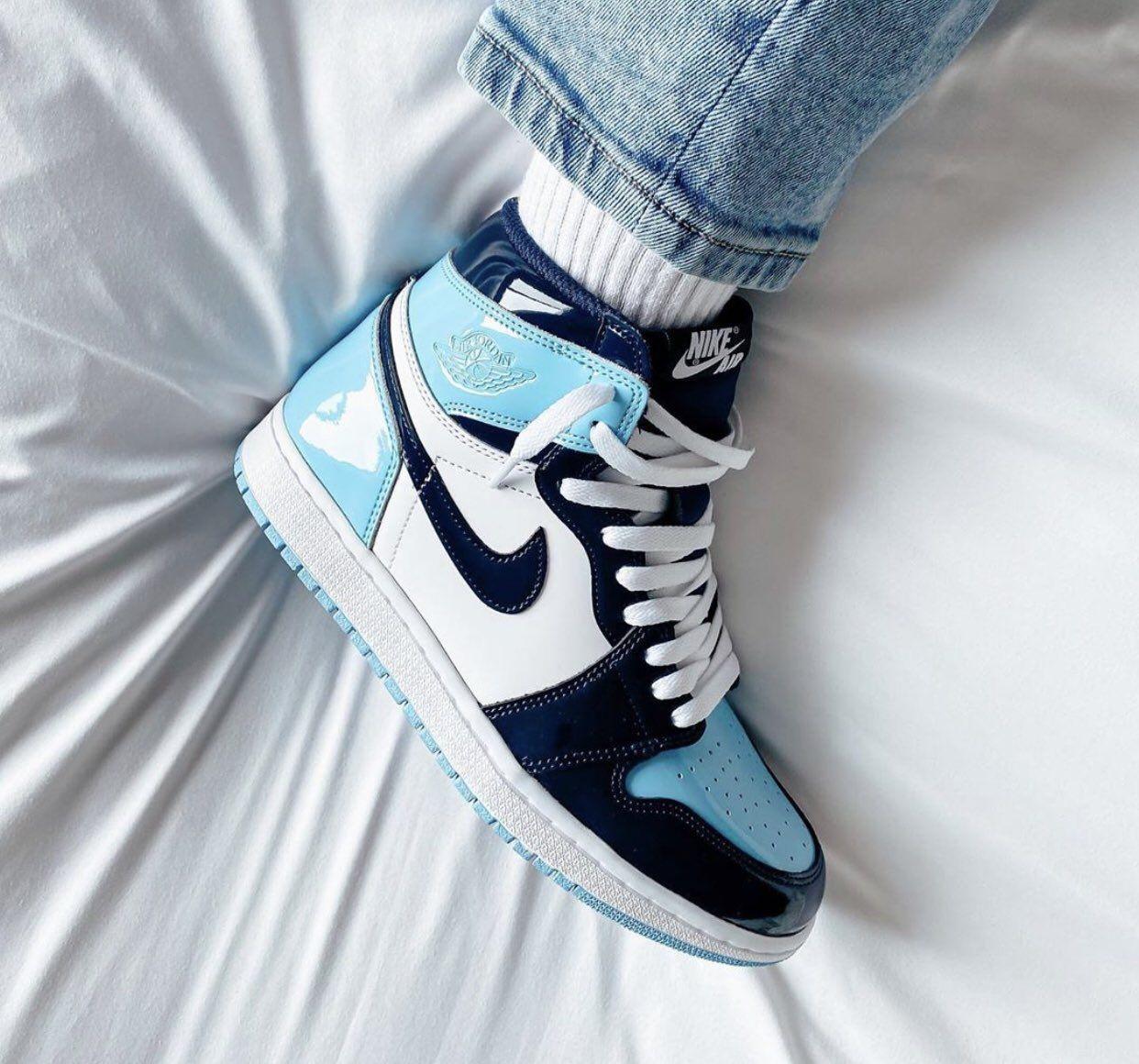 chill blue jordan 1