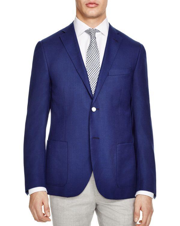 Corneliani Textured Regular Fit Sport Coat