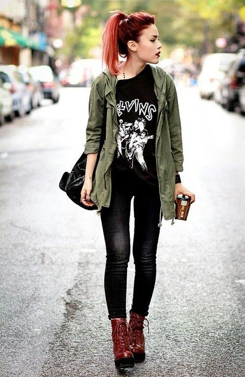 Cute Grungy Outfit