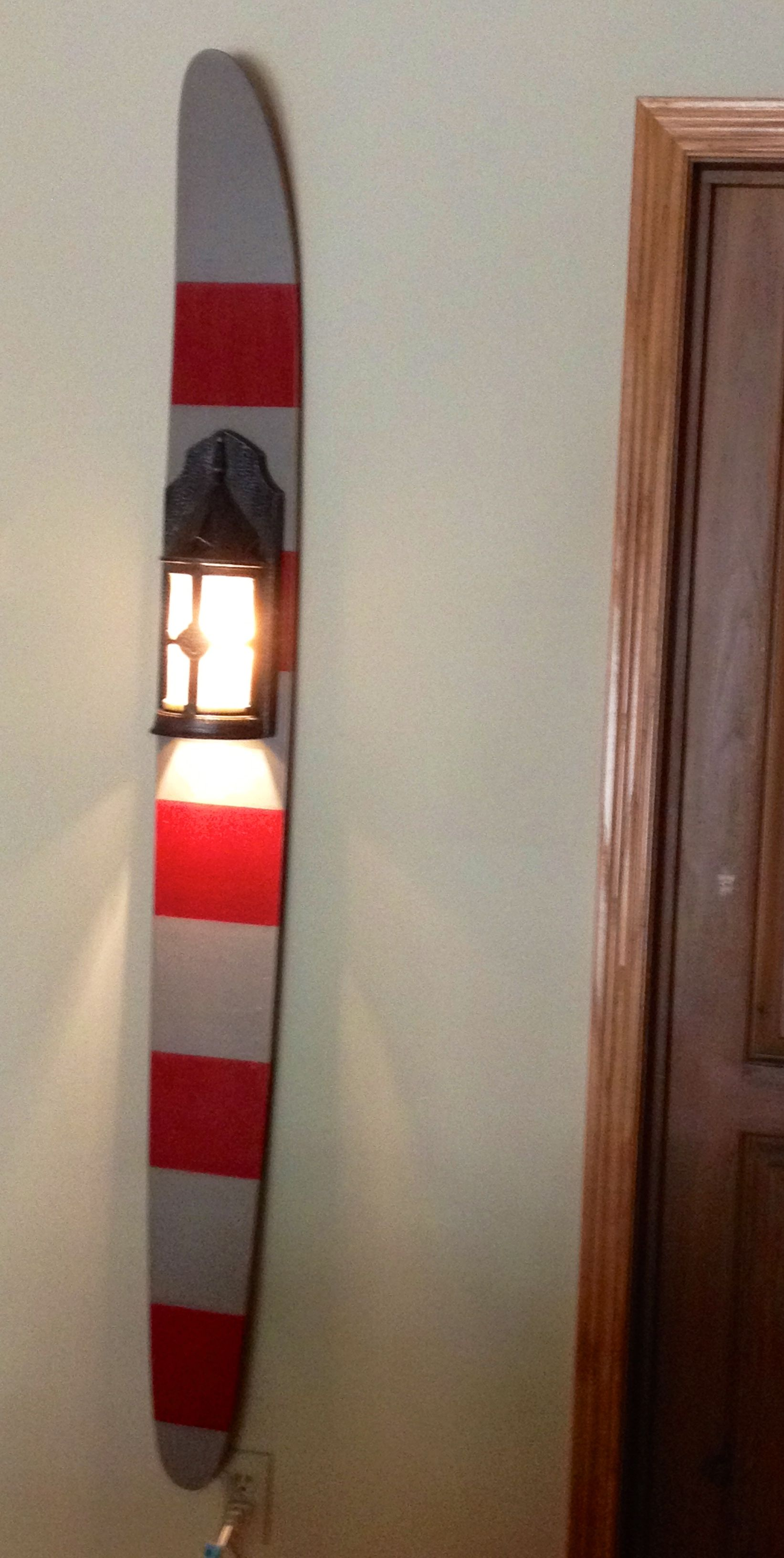 Vintage Water Ski Light Completed Projects Pinterest