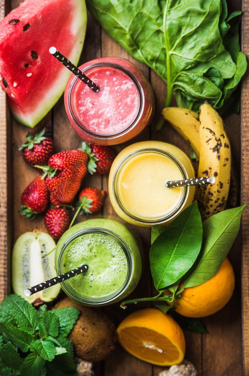 Dieta de batidos de frutas y verduras para adelgazar