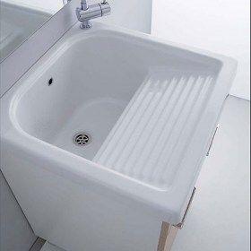 Vasca lavatoio in ceramica 60x60 Loira nel 2020