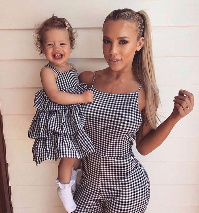 Mommy and me style.  a8124c282bcc