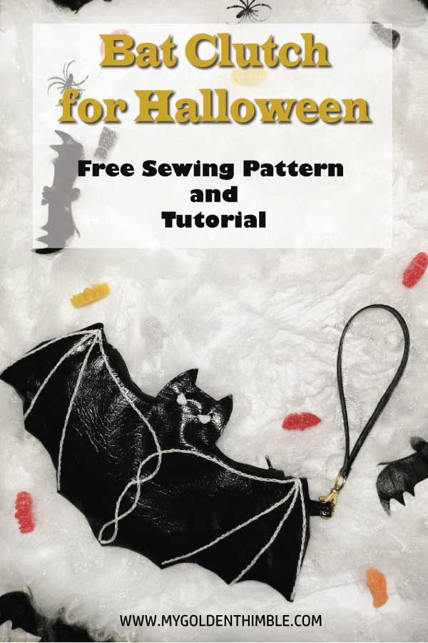 Free Halloween Clutch Sewing Pattern! | sewing | Pinterest