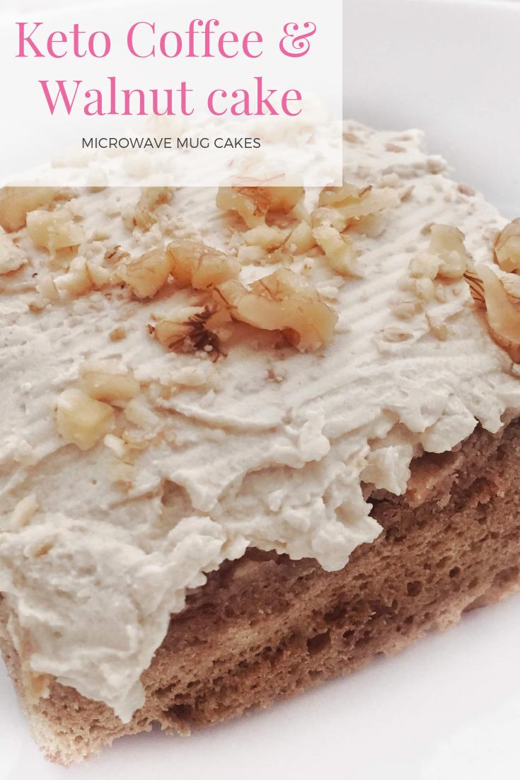 Coffee & Walnut mug cakes | Cake mix cookie recipes, Mug ...