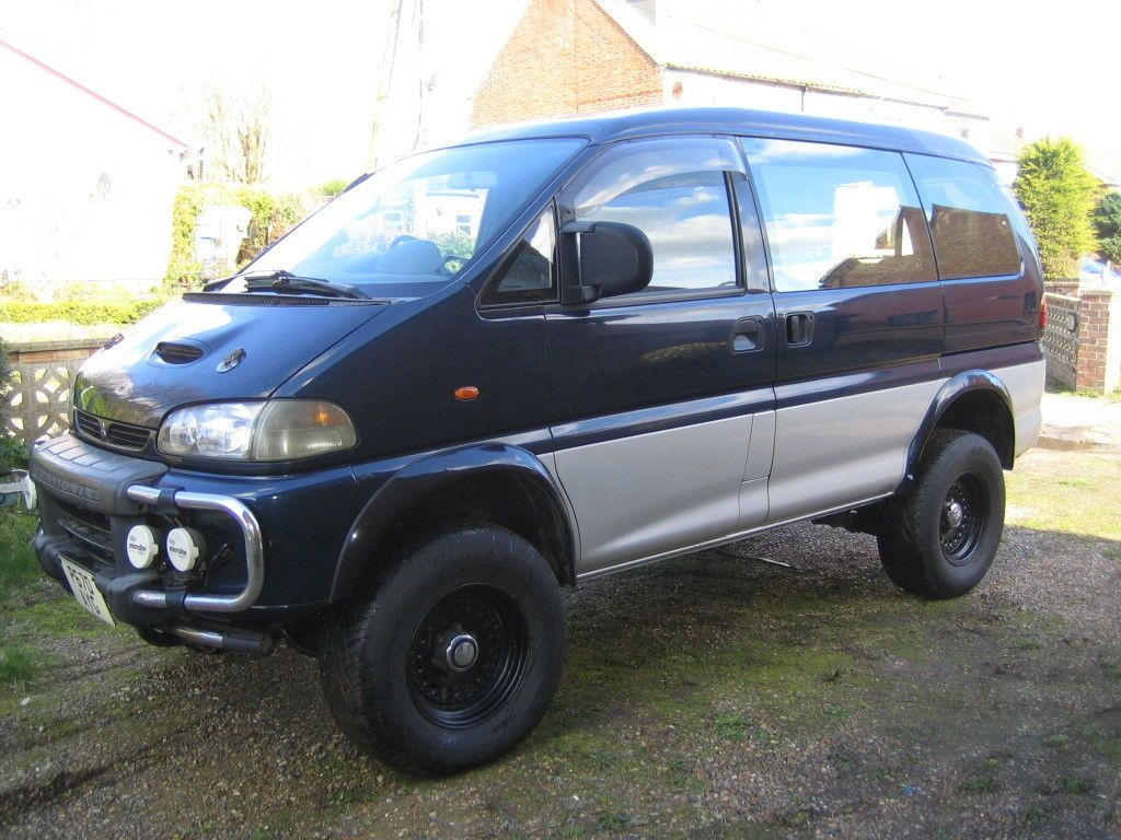 For Sale: 4WD Delica Van with a Ford 302 V8   Engine Swaps