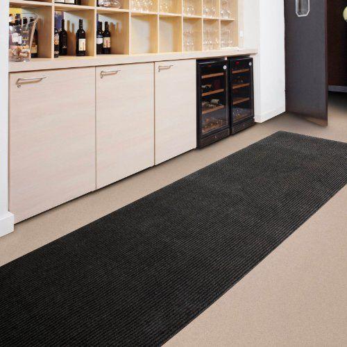 Floori Küchenläufer – 9 Größen wählbar – 100x250cm, braun