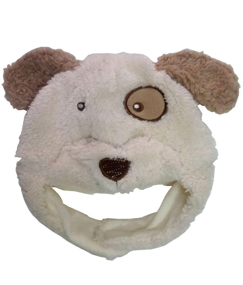 Dog Patch Beige Fur Cap