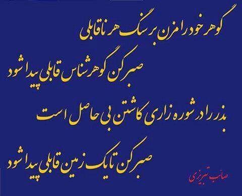 صایب تبریزی | Persian literature and poetry / شعر و ادبِ پارسی