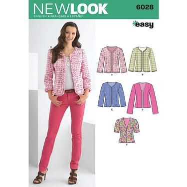 New Look 6028 Women\'s Jacket 8 - 18 | Spotlight Australia | patterns ...