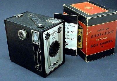 big 1939 art deco agfa ansco shur shot special camera w original rh pinterest com
