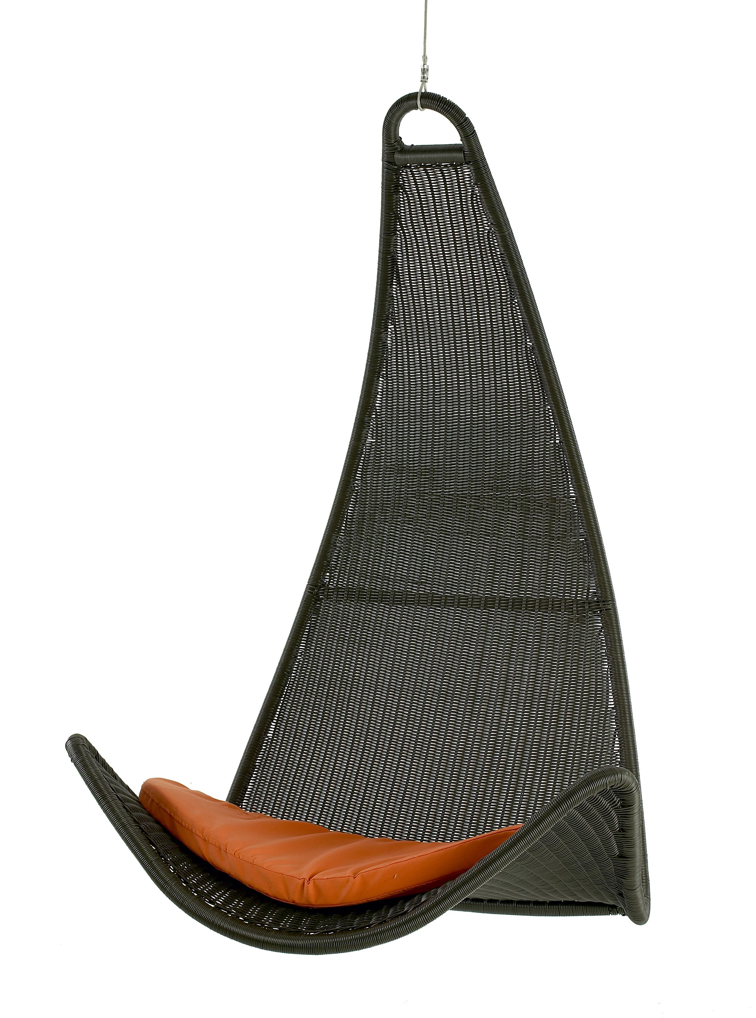 Exterior hanging chair rain cover extraordinary hanging - Hanging hammock chair for bedroom ...