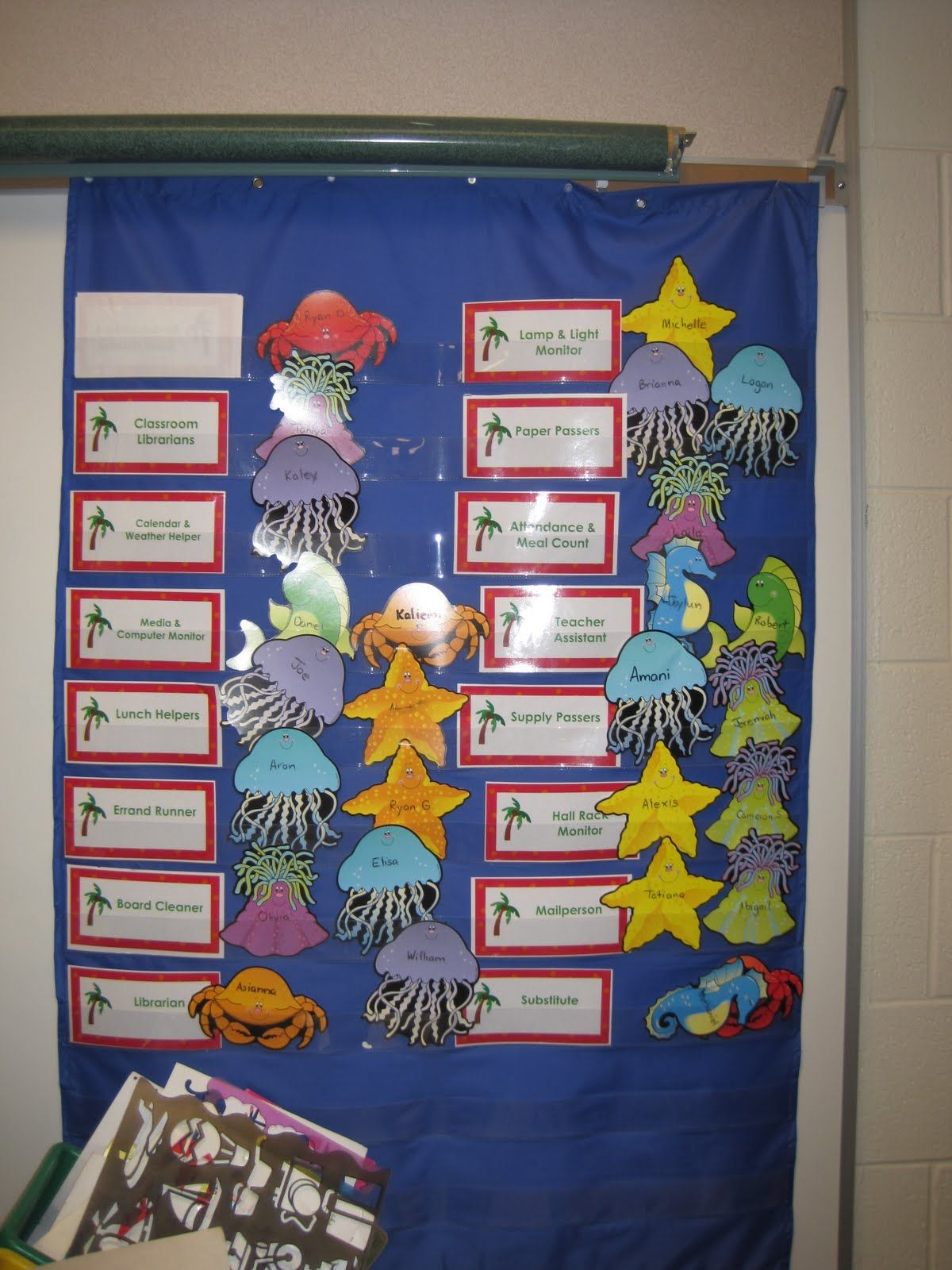 Classroom Decoration Charts For Primary School : Primary classrooms are oceans of fun beach themed