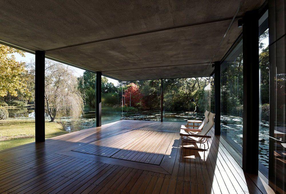 Interiores con acero, cristal y madera | Proyecto Heidi | Pinterest ...