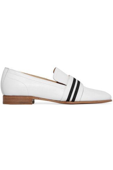 31b29949422 RAG   BONE Amber grosgrain-trimmed leather loafers.  ragbone  shoes  flats