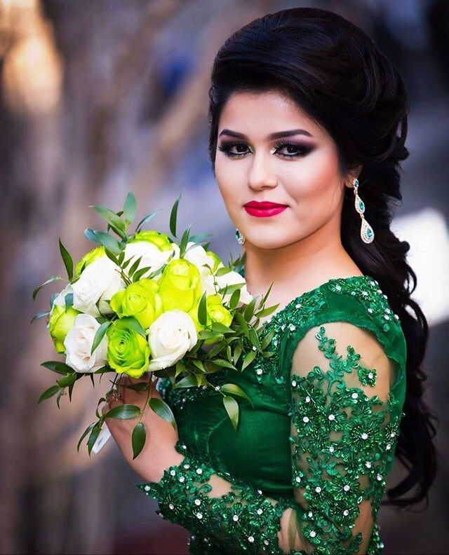 White Wedding Dress With Henna: Afghan Wedding, Nikkah Dress, Bride
