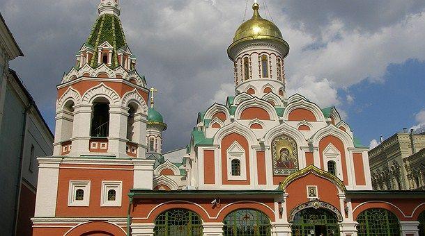 Iglesia de Ntra Sra de Kazan - Moscú