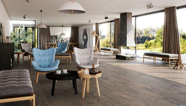 Moderne Fliesen – 80 Ideen für Bad, Küche und Wohnbereich ...