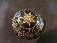 Beautiful Victorian Quality Gold & Silver Pique Brooch
