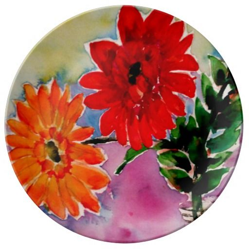 Garden Flowers Collectors Plate Collectible Gifts