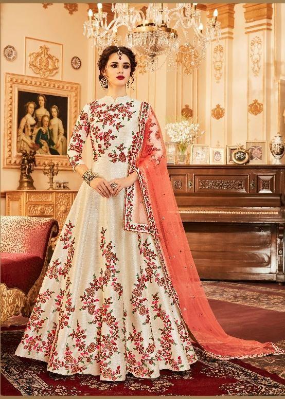 b79180bedb8e0 Aashirwad Designer Gorgeous Anarkali Suit