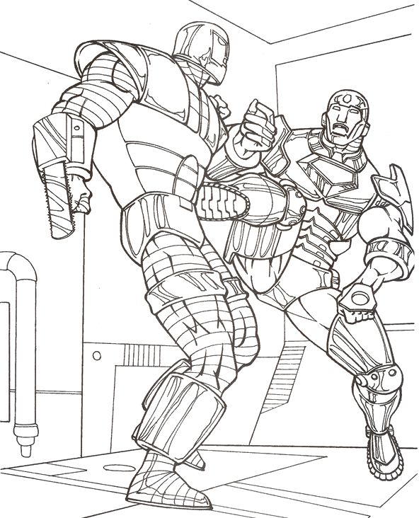 872f71548eb68e1e7df90f40ee319af5 » Evil Ironman Coloring Pages