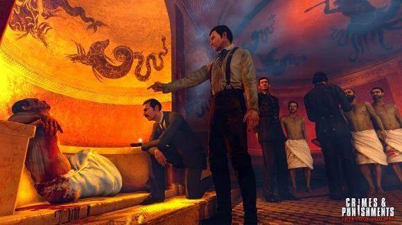 A,B,C...Games: Sherlock Holmes: Crimenes y castigos. Trailer