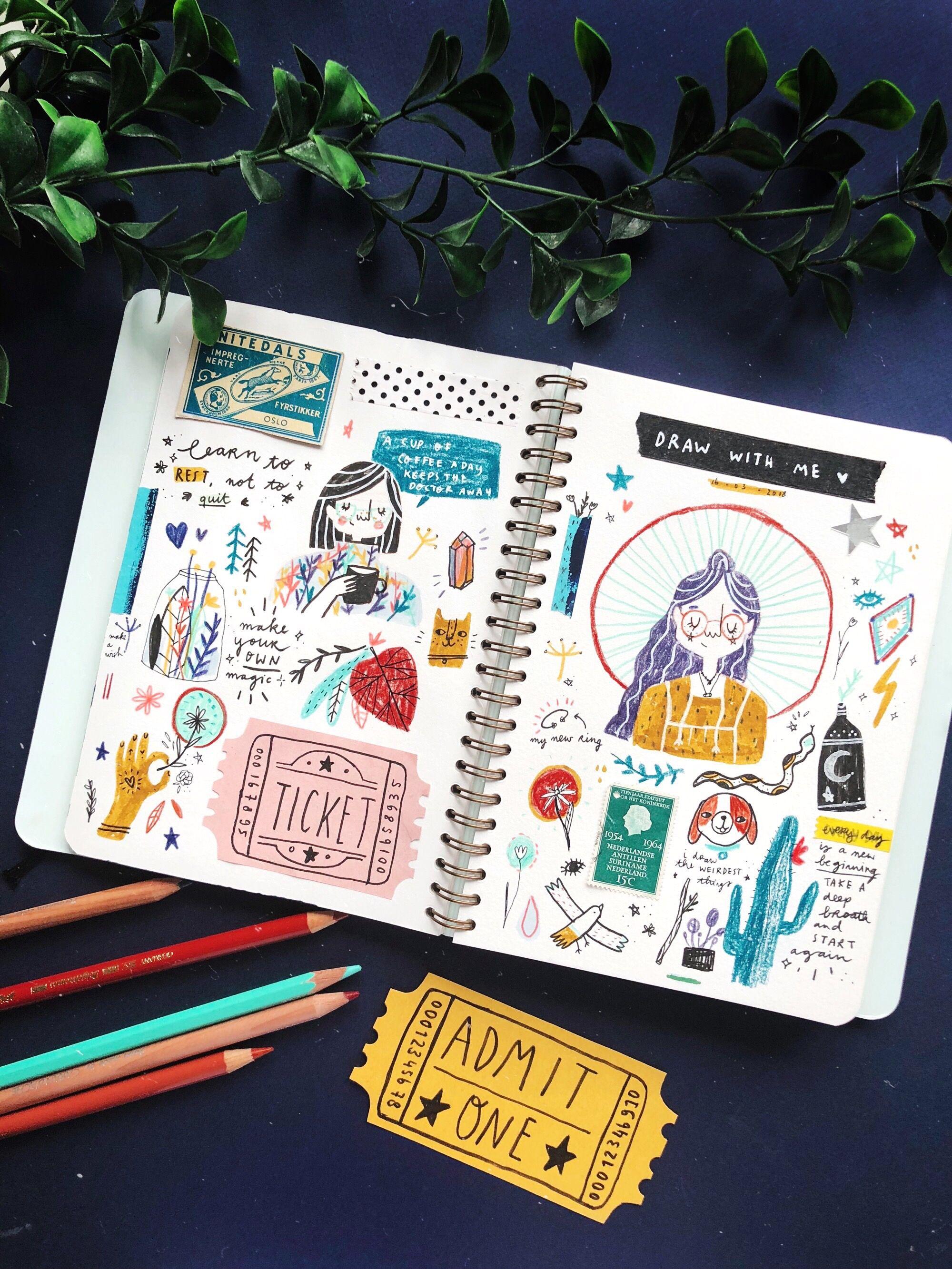 Img 4185 Sketch Book Sketchbook Journaling Art Journal
