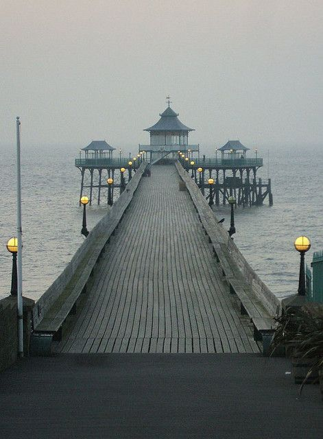 Clevedon Pier, Somerset, England. This was were One Direction filmed You and I