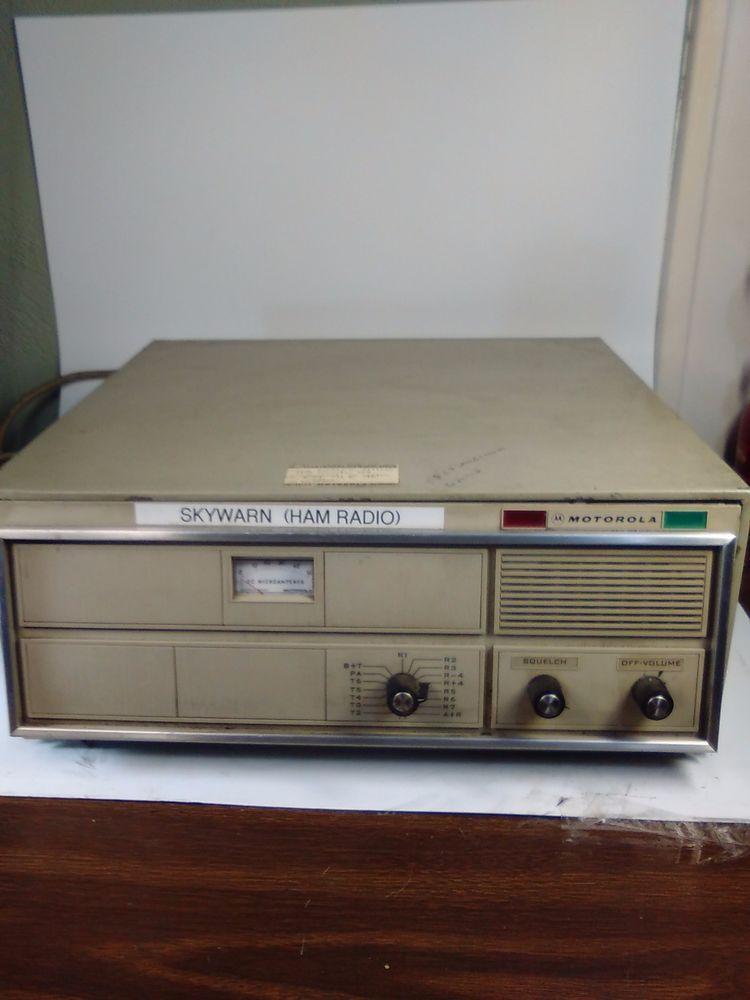 Details about Vintage Motorola Super Consolette High VHF 136