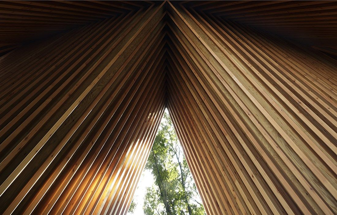 Japanese harmony between building and nature - Wood Magazine