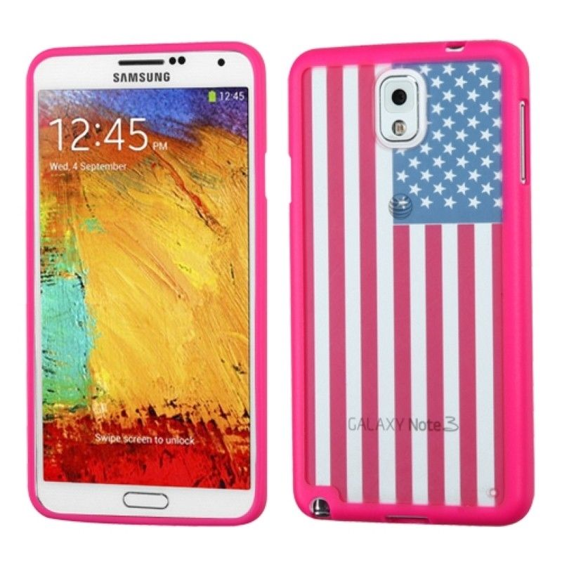 Insten Design Stiff TPU Gummy Candy Skin Phone Case Cover for Samsung Galaxy Note 3