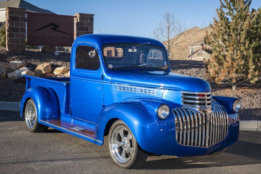 1946 Custom Chevy Hot Rod Truck | Hot rods for sale | Cars/Trucks ...