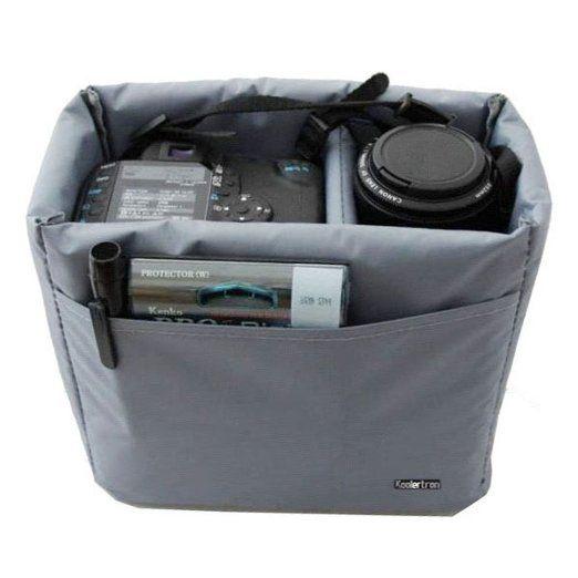 Amazon Com Koolertron Waterproof Shockproof Partition Padded Camera Bags Slr Dslr Tlr In Padded Camera Bag Camera Bag Insert