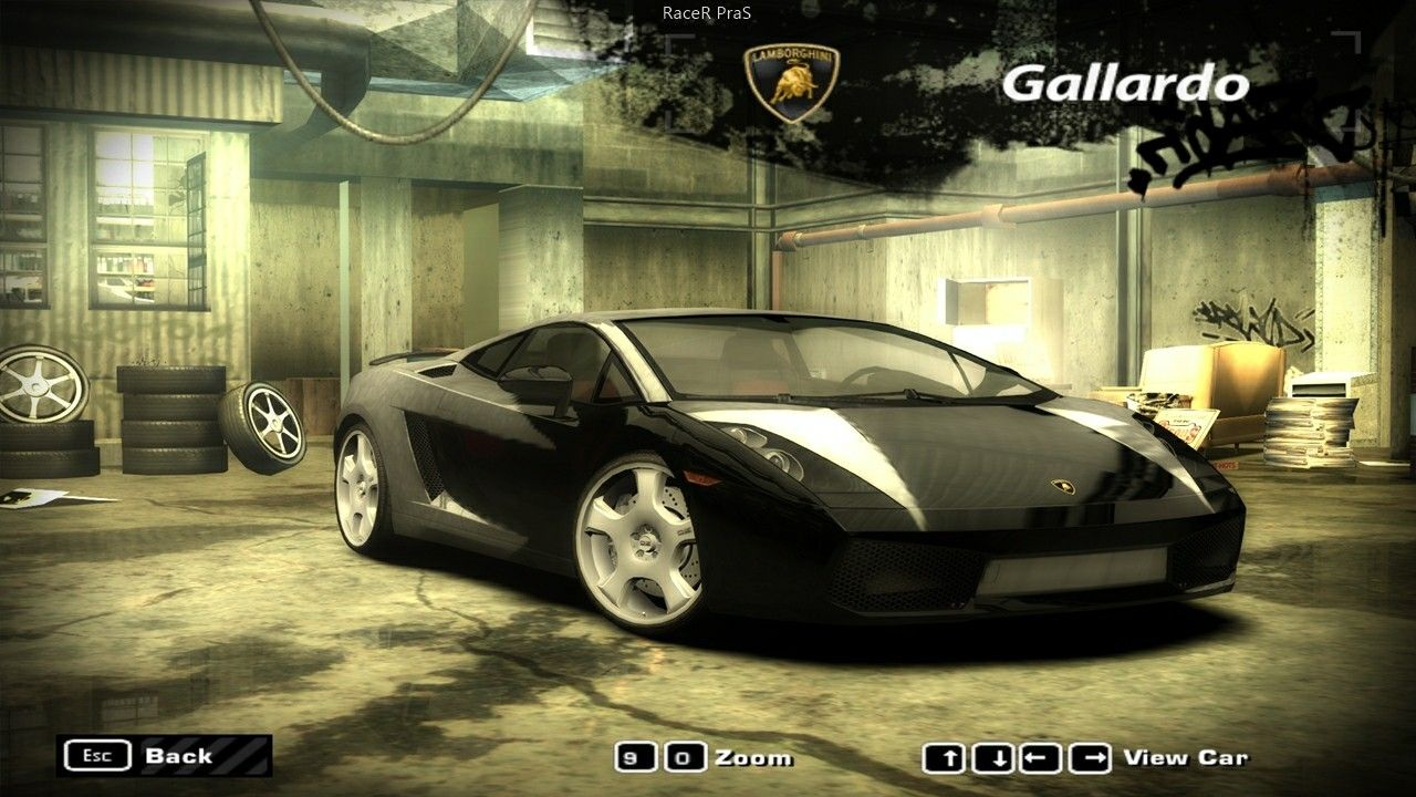 Lamborghini Gallardo Need For Speed Most Wanted 2005 Racing Games