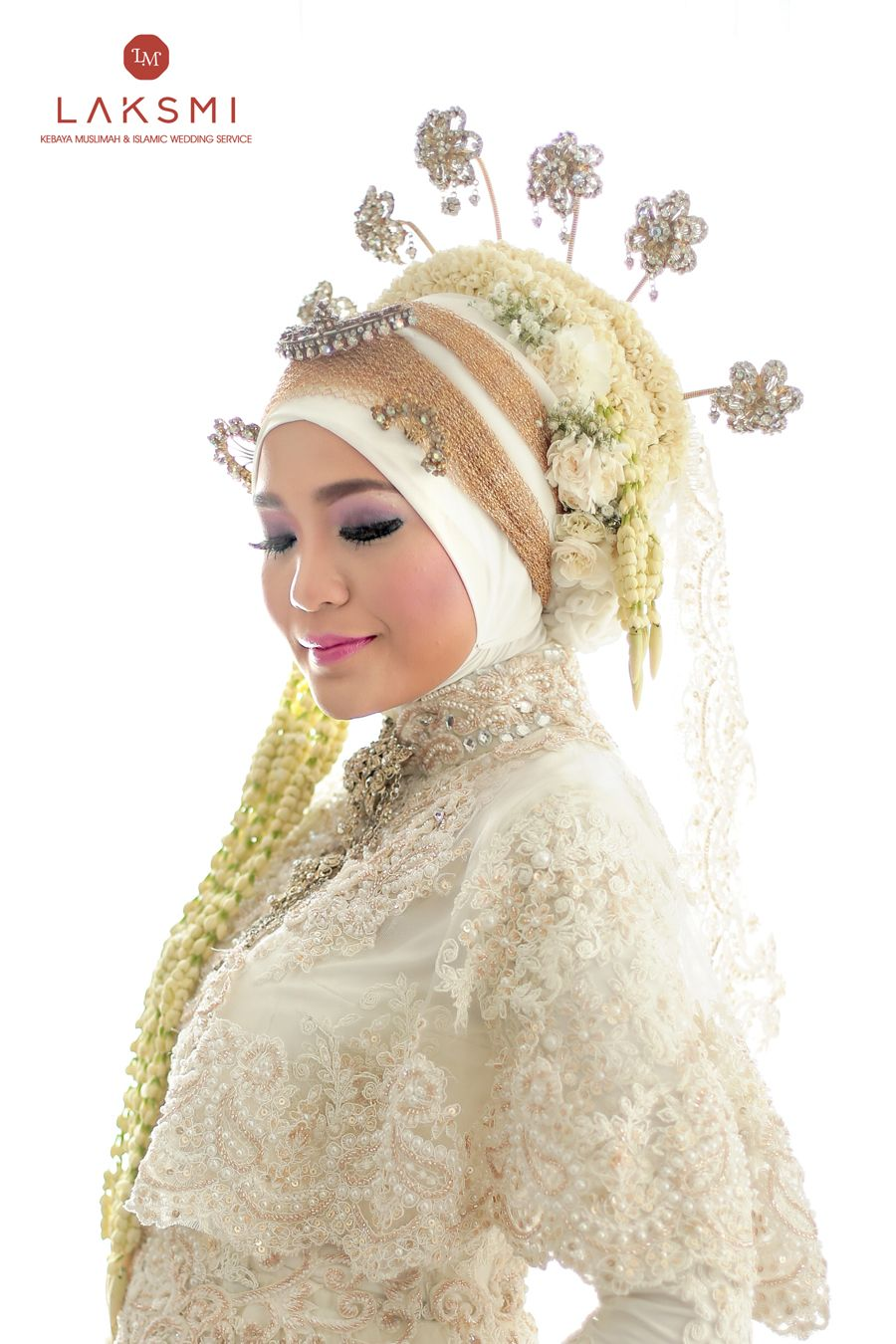 Akad Nikah Menjadi Moment Sakral Yang Akan Selalu Terkenang Sepanjang Kehidupan Atika Memilih Kebaya Akad Nikah Be Pengantin Wanita Pengantin Pengantin Muslim
