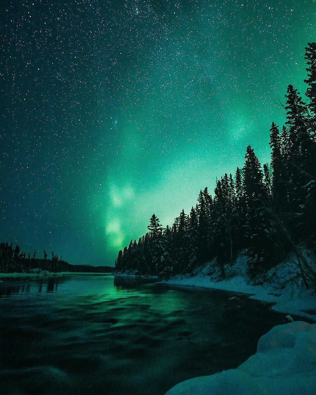 Computer Wallpaper Canada: Incredible Night Landscape Photography By Andre Brandt