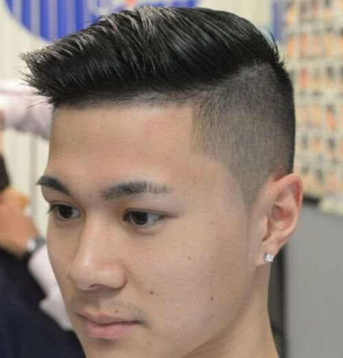 Asian haircut men