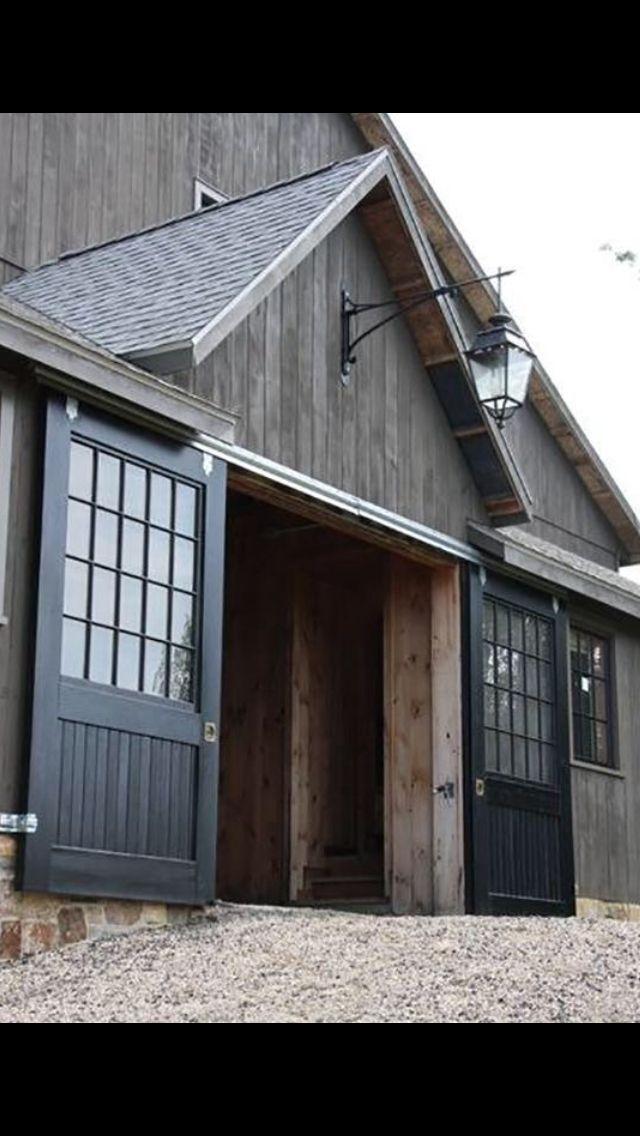Garage Door Idea Interior Barn Doors Pinterest Garage Doors