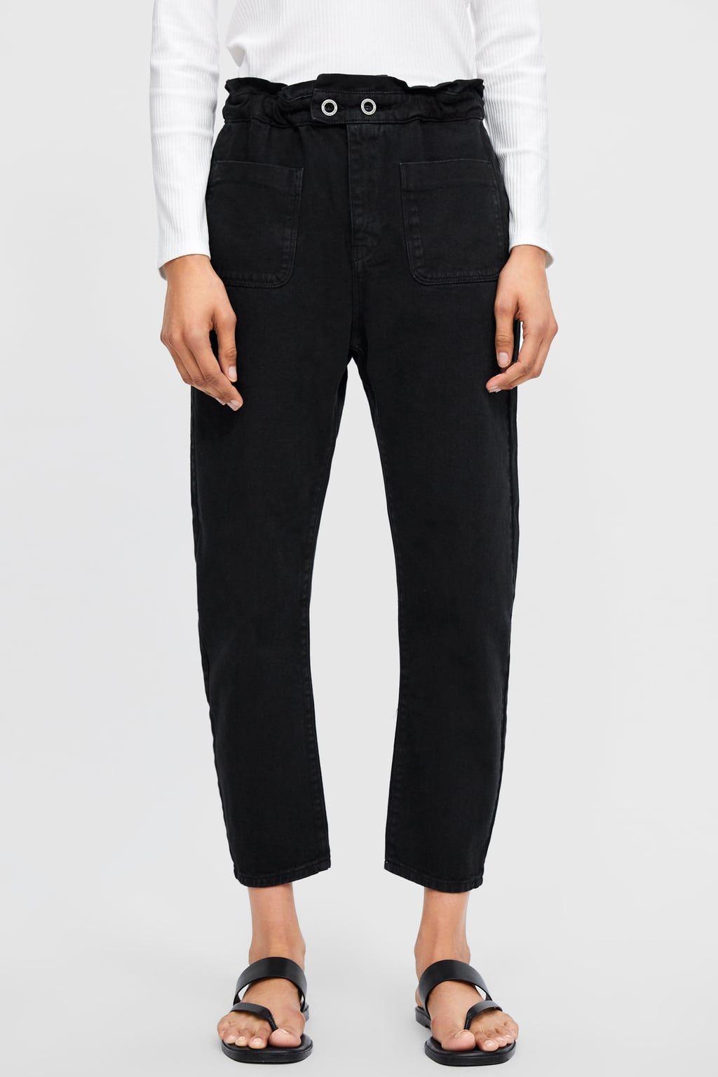 0752bb48 Z1975 baggy jeans | fashion in 2019 | Jeans, Pants, Zara