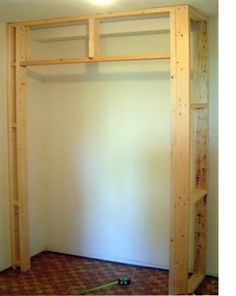 How To Build A Closet Drywall Installation