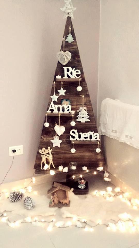 Tienda navidad navidad 2017 pinterest noel deco noel y noel christmas - Arboles de navidad de madera ...