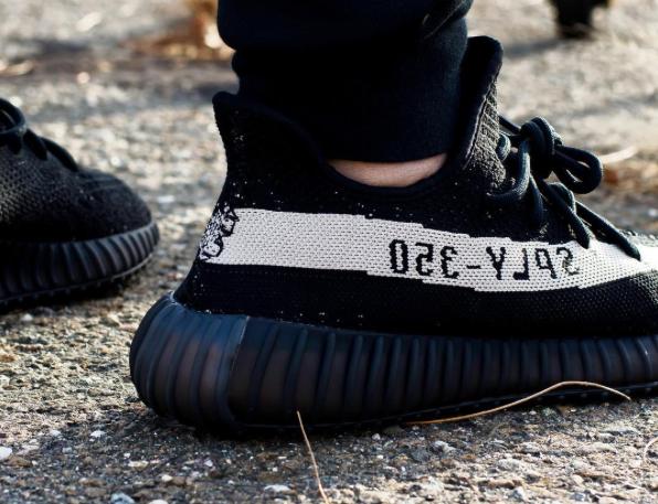 pronti per l'adidas yeezy impulso 350 v2 bianco nero di new york