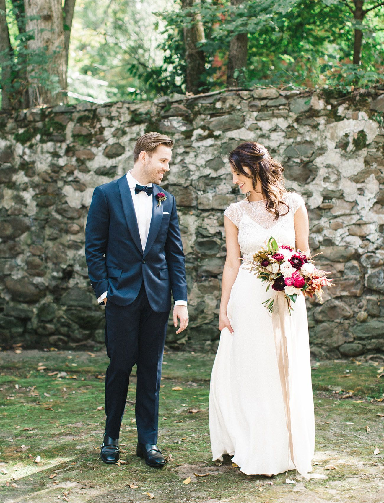 Rustic romantic new york barn wedding lauren brenden barn