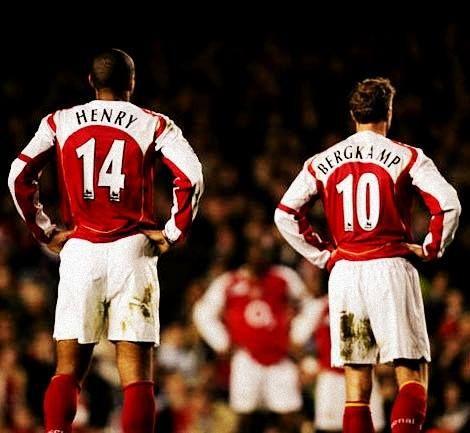 Berkgamp & Henry Arsenal | Numerosette Magazine